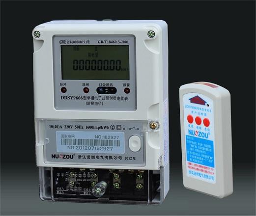 电能表准确度等级