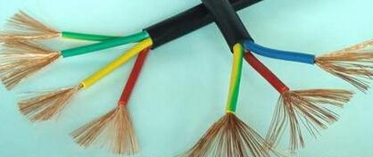 2芯橡皮绝缘纤维编织交换机插塞连接用电话软线