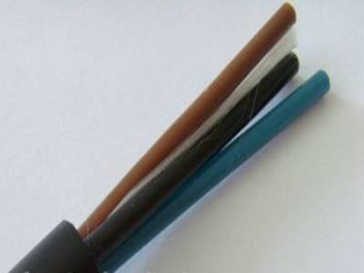 2芯橡皮绝缘纤维编织电话软线
