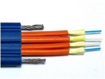 金属构件、光纤带松套层绞式、低烟无卤护层通信用室内光缆