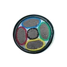 铝芯交联聚乙烯绝缘双钢带铠装聚氯乙烯护套电力电缆