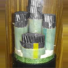 铝合金导体交联聚乙烯绝缘聚氯乙烯内护联锁铠装电力电缆
