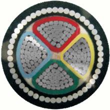 铝芯交联聚乙烯绝缘细圆钢丝铠装聚氯乙烯护套电力电缆