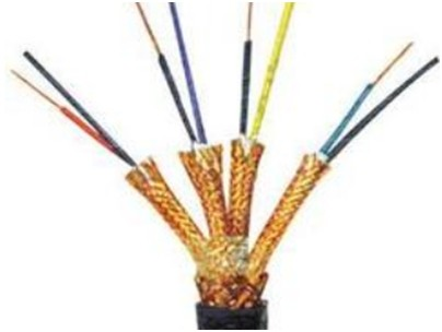 氟塑料绝缘对绞铜丝编织分屏蔽耐热105℃聚氯乙烯护套一般用普通级K分度热电偶用补偿导线