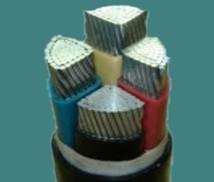 铝芯聚氯乙烯绝缘双钢带铠装聚氯乙烯护套电力电缆