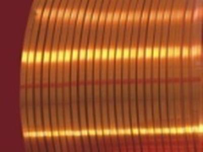 180级薄漆膜聚酯亚安漆包扁铜线