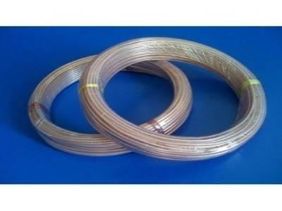 耐电压7.25kV三层聚酰亚胺-氟46复合薄膜绕包圆铜线