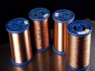 130级薄漆膜聚酯漆包扁铜线