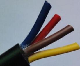 4芯橡皮绝缘橡皮护套电话软线