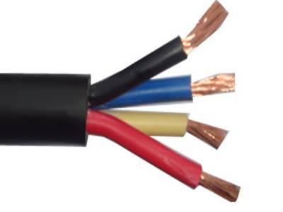 4芯聚丙烯绝缘聚氯乙烯护套扁形弹簧形电话软线