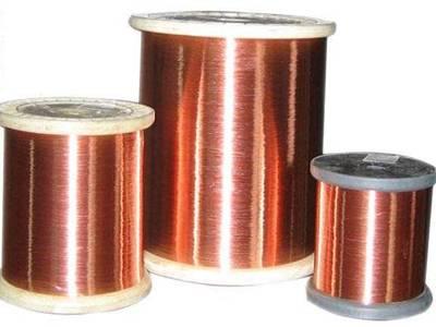 155级厚漆膜改性聚酯漆包扁铜线