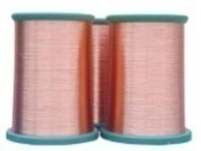 120级厚漆膜缩醛漆包扁圆铜线