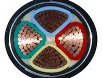 铜芯交联聚乙烯绝缘双钢带铠装聚氯乙烯护套电力电缆