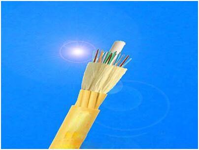 金属加强构件、光纤带松套层绞填充式、钢-聚乙烯粘结护套、单细圆钢丝铠装、聚乙烯套通信用室外光缆