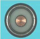 铜芯交联聚乙烯绝缘非磁性金属丝铠装聚乙烯护套电力电缆