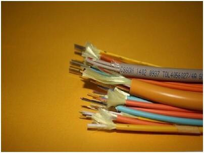 金属元构件、紧套光纤、铝-聚乙烯粘结护套室内外光缆