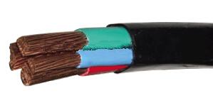 软铜芯聚乙烯绝缘架空电缆