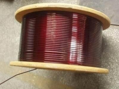 155级薄漆膜改性聚酯漆包扁铜线