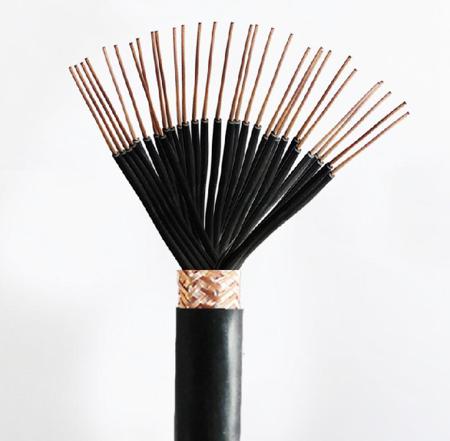 铜芯硅橡胶绝缘硅橡胶护套铜丝编织屏蔽控制电缆