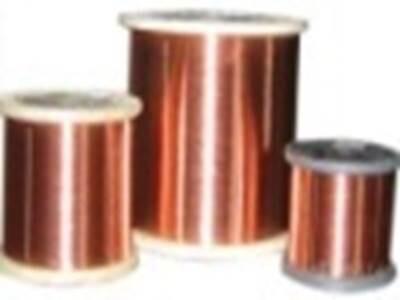 130级单玻璃丝包薄膜绕包扁铜线