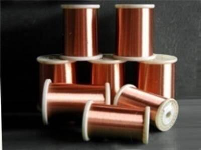 130级厚漆膜聚氨酯漆包圆铜线