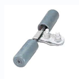 高压架空线路靠近绝缘子两侧防振锤的作用