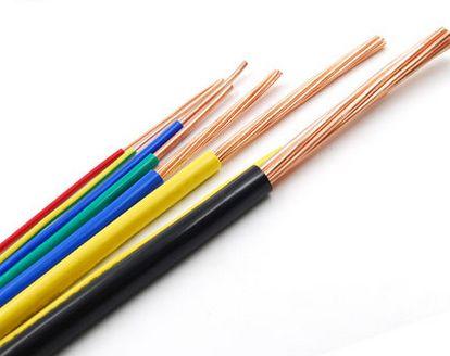 家装电线的颜色分类