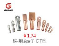 铜接线端子DT型