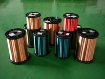 200级厚漆膜聚酯亚安聚酰胺酰亚胺复合漆包圆铜线