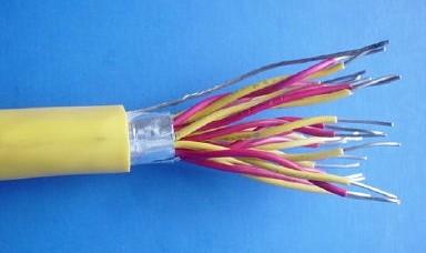 氟塑料绝缘氟塑料护套耐热用普通级K分度热电偶用延长型软导体补偿电缆