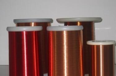 200级薄漆膜聚酯亚安聚酰胺酰亚胺复合漆包圆铜线