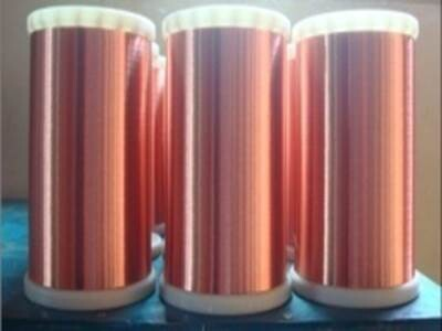 180级厚漆膜聚酯亚安漆包圆铜线