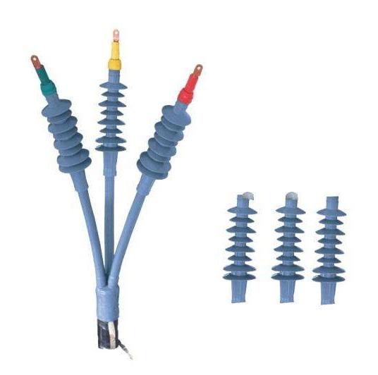 冷缩电缆头的制作注意事项