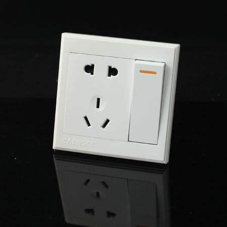 带插座的双控开关该怎么接线呢?