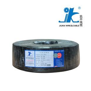 上海玖开RVV2*1.5国标足米铜芯电线100米