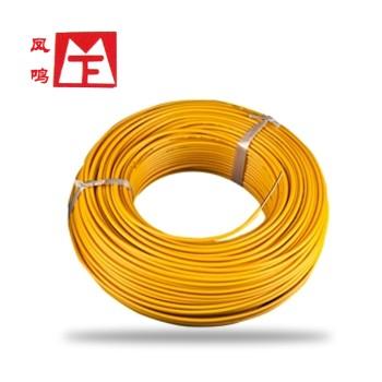 凤鸣电缆ZR-BVR4平方国标阻燃铜芯 家装单芯软线100米