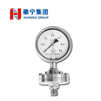 安徽徽宁压力表(隔膜螺纹式)YN-100BML  量程(MPa)0~60   可定制