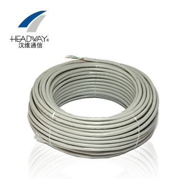 浙江汉维通信(HSYV-UTP-5e)非屏蔽超五类双绞网线 4对8芯无氧铜305米