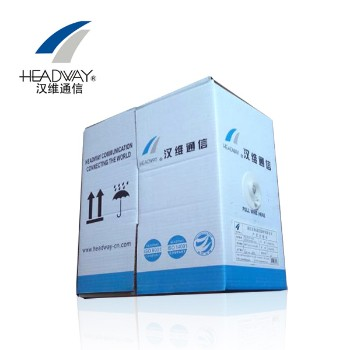 浙江汉维通信(HSYV-FTP-5e)单屏蔽超五类双绞网线 4对8芯无氧铜305米