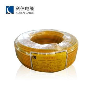 科信电缆 BV4平方国标铜芯电线100米