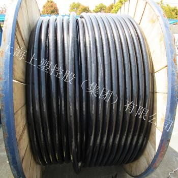 上海上塑电线电缆0.6/1KV VV电力电缆3*25+2*16