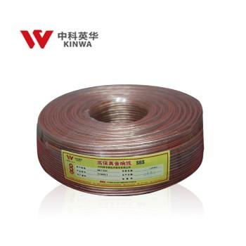 中科英华专业高保真音响线 喇叭线 音箱线 吸顶天花壁挂 喇叭专用线100m      2*1.5(150/0.1)