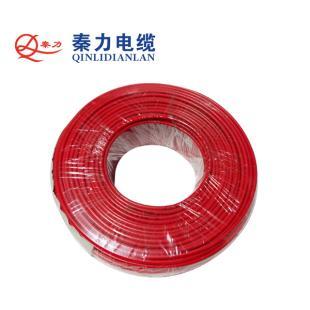 秦力电缆BV4平方国标铜芯电线100米