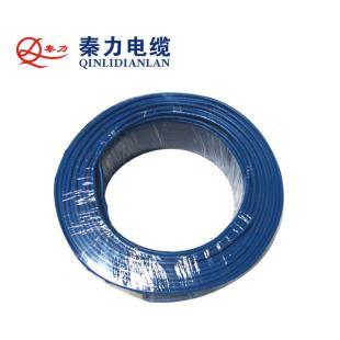 秦力电缆BVR10平方国标铜芯电线100米