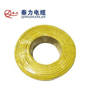 秦力电缆BVR6平方国标铜芯电线100米