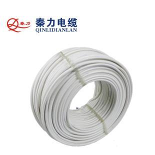 秦力电缆BVVB2*4平方国标铜芯电线100米