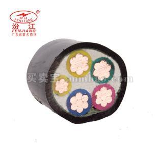 广州珠江电线电缆 0.6/1KV ZR-VV电力电缆5*4-5*10