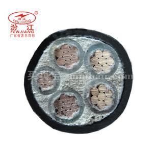 广州珠江电线电缆 0.6/1KV NHZR-YJV电力电缆4*25+1*16