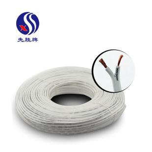 河南兴胜先胜牌 RVV2*6多股铜芯护套软线 电源线/信号线/监控线/空调线 100米
