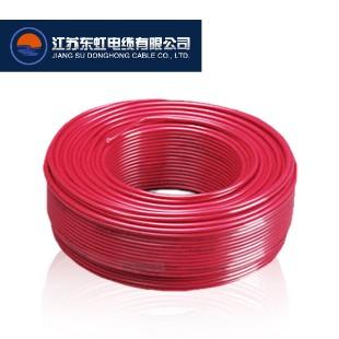 江苏东虹电缆BV1.5平方国标铜芯电线100米
